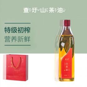 【1000ml】查圩山茶籽油护肤油纯山茶油