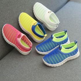 夏季儿童网鞋女童透气网面运动鞋中大童凉鞋男童防滑