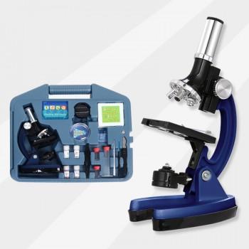 显微镜中学生儿童科学专业生物实验室便携套装小学生