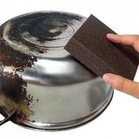 厨房洗刷锅擦锅神器金刚砂魔力擦海绵擦去污垢升级去除