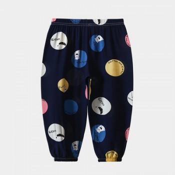 童装夏季2020儿童防蚊裤薄款休闲空调裤宝宝棉绸长
