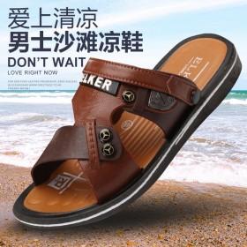 夏季凉拖鞋男外穿2020新款男士凉鞋个性休闲防滑沙