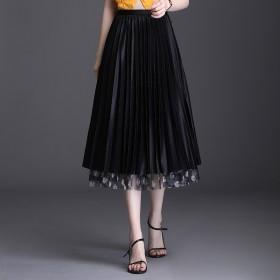 两面穿女装半身裙2020夏季新款网纱韩版高腰显瘦百