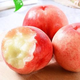现摘水蜜桃5斤时令水果脆甜多汁当季新鲜水果桃子非黄