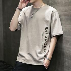 男士短袖t恤2020新款夏季潮流潮牌宽松