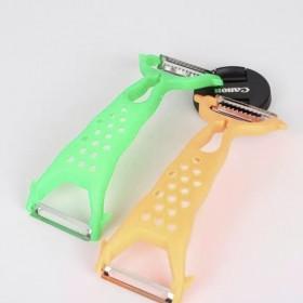 创意家居多功能双头瓜刨苹果削皮器果削皮刀塑料刨丝器