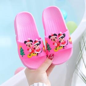 儿童拖鞋夏季男童女童宝宝卡通可爱防滑软底小孩洗澡居