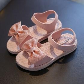 女童凉鞋2020新款时尚夏季小公主女孩中大童网红亮