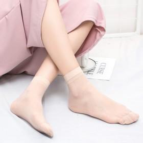 春夏季女士袜子防勾丝短丝袜 高弹超柔钢丝袜 天鹅绒