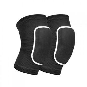 运动舞蹈护膝海绵膝盖护具防摔跳舞滑轮专用跪地加厚儿