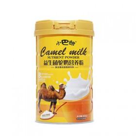 新疆骆驼奶粉学生成人中老年高钙无糖脱脂奶粉益生菌骆