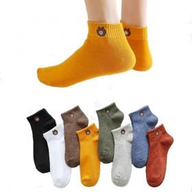 2020新款袜子女薄款夏季船袜运动棉袜透气吸汗卡通