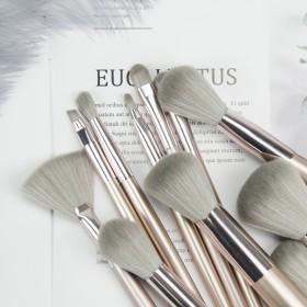 化妆刷套装带收纳全套专业便携超级软毛仿动物毛初学者