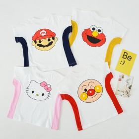 儿童短袖T恤纯棉
