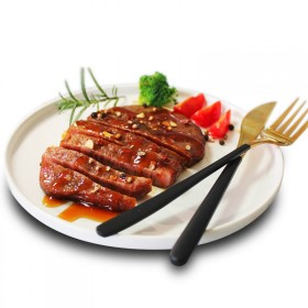 澳洲2斤进口牛排黑椒菲力儿童家庭套餐10片新鲜牛肉