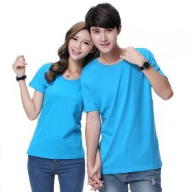 男女士T恤印制POLO衫工作衣服装纯棉短袖上衣