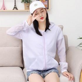 防晒衣女2020新款户外长袖运动防紫外线外套薄款