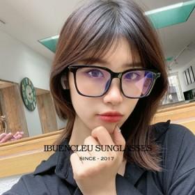 新款大框防蓝光TR90眼镜架男女通用护目平光镜