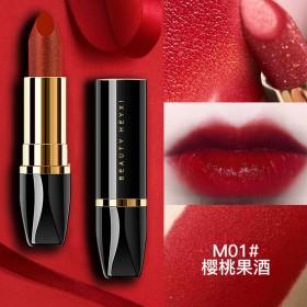 李佳琪推荐同款樱桃口红滋润孕妇可用不易脱色唇膏
