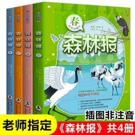 【森林报】春夏秋冬故事书全套共4册