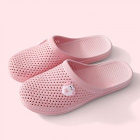 .两双装】 夏季居家包头洞洞鞋室...