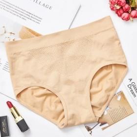 3D暖宫蜂窝裤弹力舒适无缝收腹提臀高腰内裤