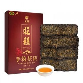 黑茶湖南安化黑茶茯砖茶