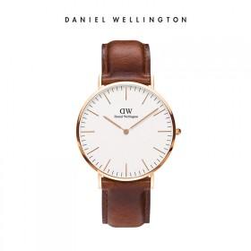 礼物DW丹尼尔惠灵顿 手表新款欧美简约皮表带