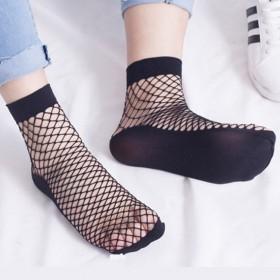 2双装夏季运动网状面性感短筒丝袜短款浅口袜ins潮