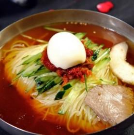 正宗朝鲜大冷面450g×3份干料汤料齐全