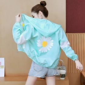 衣女2020夏装新款短款轻薄透气服韩版防紫外线外套