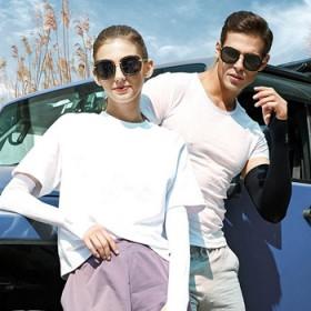 汽车用品冰丝袖防晒袖套夏季男女士外骑行军训开车韩版