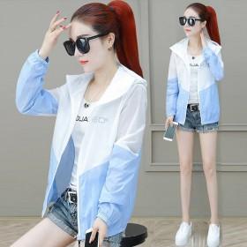 防紫外线2020春秋夏季新款韩版薄款ins外套女