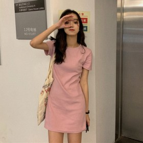 2020夏季韩版新款学生中长款裙子