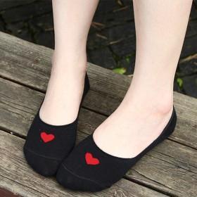 袜子春夏新款浅口船袜隐形袜200针纯棉女袜女士韩版