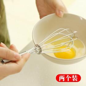 手动打蛋器不锈钢家用厨房手动搅拌器和面器奶油烘