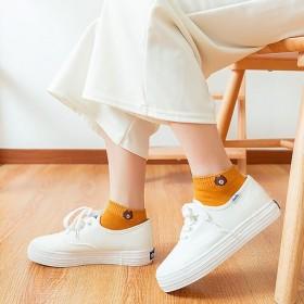 小熊船袜 女 春夏薄款浅口卡通短袜百搭袜子