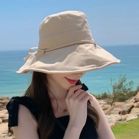 女士渔夫帽夏季韩版遮阳防晒帽