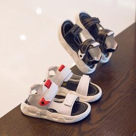 儿童凉鞋2020年夏季新款小童鞋软底时尚潮撘运动