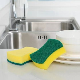 厂家海绵刷强力去污洗碗海绵擦 清洁海绵刷厨房洗碗魔