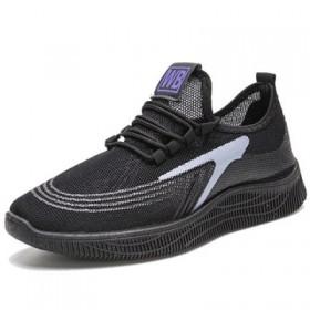 2020新款男鞋休闲韩版夏季透气运动跑步鞋网鞋布鞋