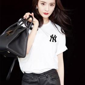短袖T恤女2020夏季韩国新款学生衣服女白色宽松