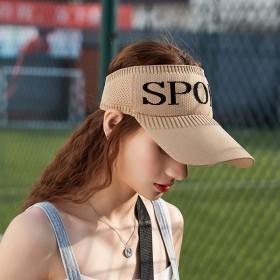 春夏新款网红百搭潮流户外运动遮阳空顶帽子开业促销