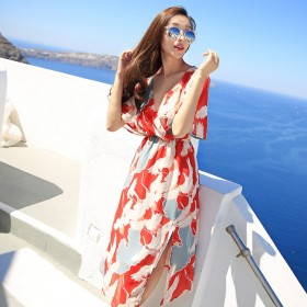 夏泰国海边度假海滩裙