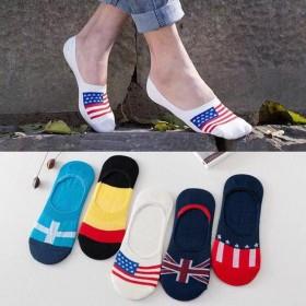 袜子男船袜男士隐形袜短袜男浅口薄款夏季棉袜四季袜子