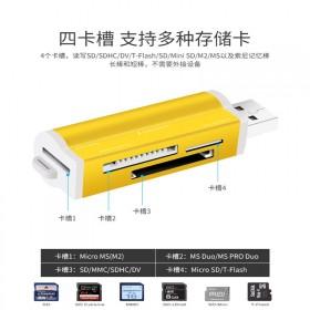多合一高速读卡器USB2.0多功能SD/TF/MS