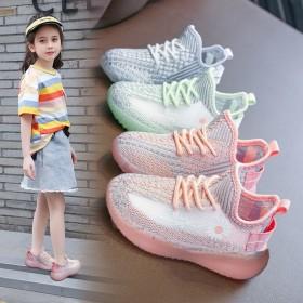 儿童椰子鞋单网鞋2020新款夏季女童透气