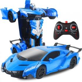 变形金刚儿童玩具遥控汽车漂移赛车小孩电动玩具车礼物