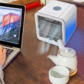 便携空调扇USB迷你空气加湿多功能负离冷风机