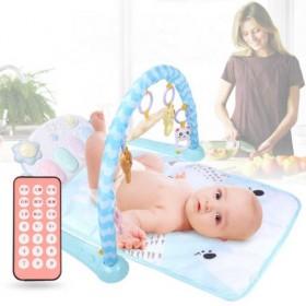 新生婴儿玩具遥控声光脚踏琴健身架宝宝早教0-12月